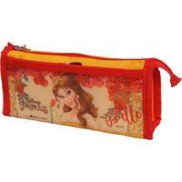 Disney Double Zip Pvc & Polyester Pencil Bag