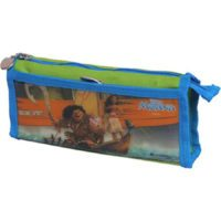Disney Double Zip Pvc & Polyester Pencil Bag