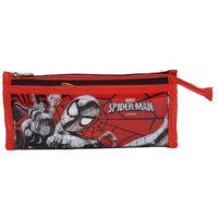 HMI OrigInal Disney & Marvel Cartoon Arts Spiderman & Avengers PVC Pencil Pouch & Pencil Case Multicolour (Spiderman)