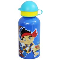 Disney Jake and the Never Land Pirates Aluminum Sipper Water Bottle, 350ml, Pink