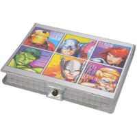 Disney Avengers Coloring Folder and Stationery Set - 32 Pieces (Multicolour)