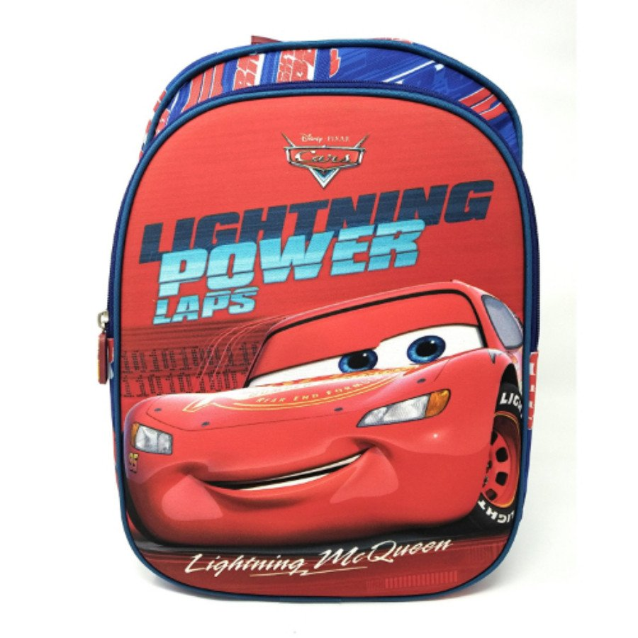 HMI Disney Junior 14 inch 3D Character Embossed Kids Backpack