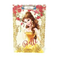 HM Disney Belle Princess Exam Clip Board, HMSPEB 50121-BEL