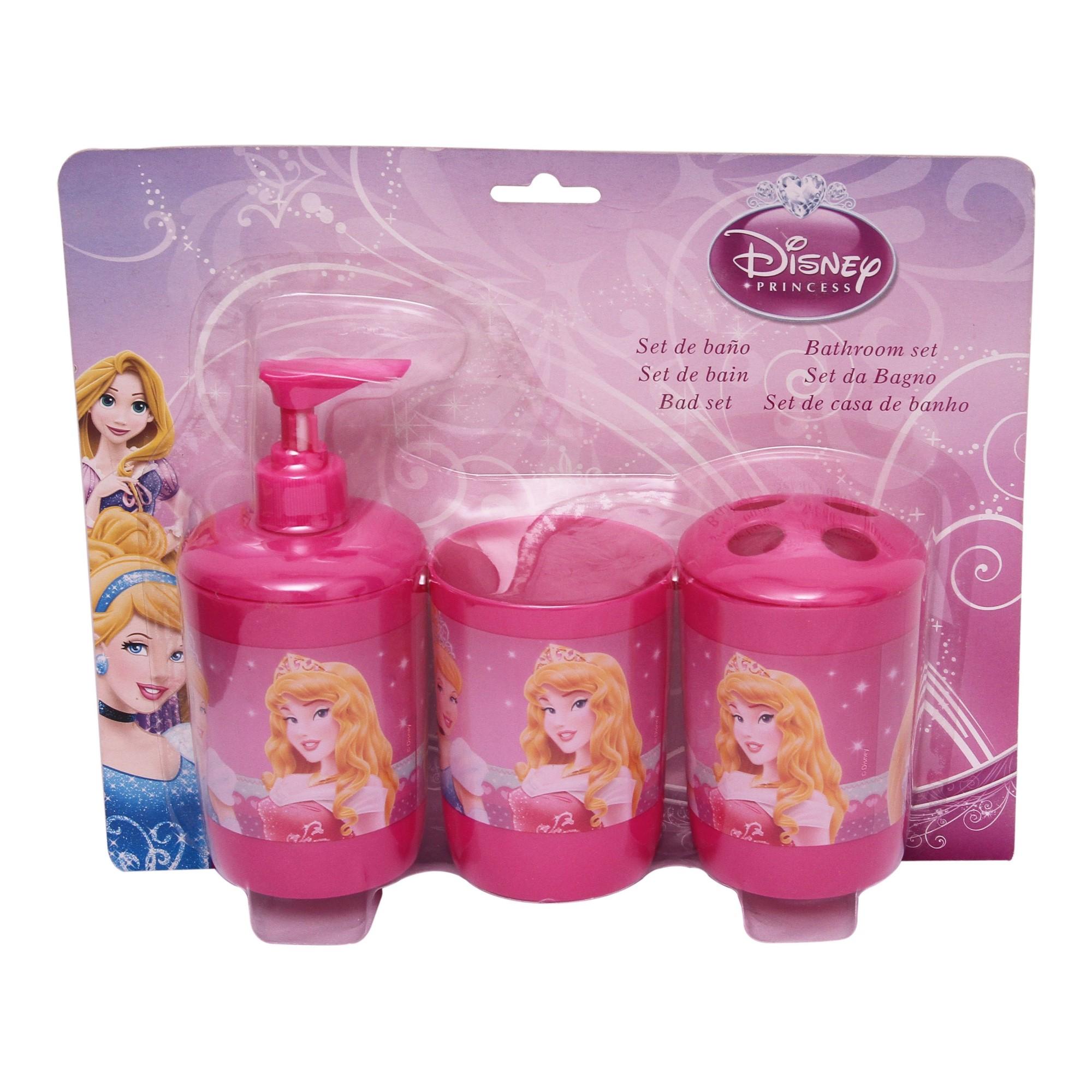 Disney Princess 3 Pieces Bathroom Set